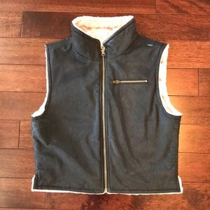 Jackets & Blazers - Skea Sharon reversible fur vest